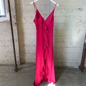 For Love and Lemons Isabella Ruffled Maxi Dress